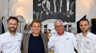 René Rast, Nico Rosberg, Arno Zensen, Jamie Green,DTM 2019, Audi Sport Team Rosberg (c) Audi