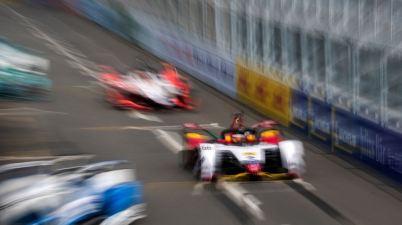 Audi e-tron FE05 #66 (Audi Sport ABT Schaeffler), Daniel Abt,Formula E, Sanya E-Prix 2019 (c)Audi