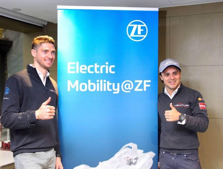 Edo Mortara und Felipe Massa mit ZF-Antrieb unterwegs (c)ZF