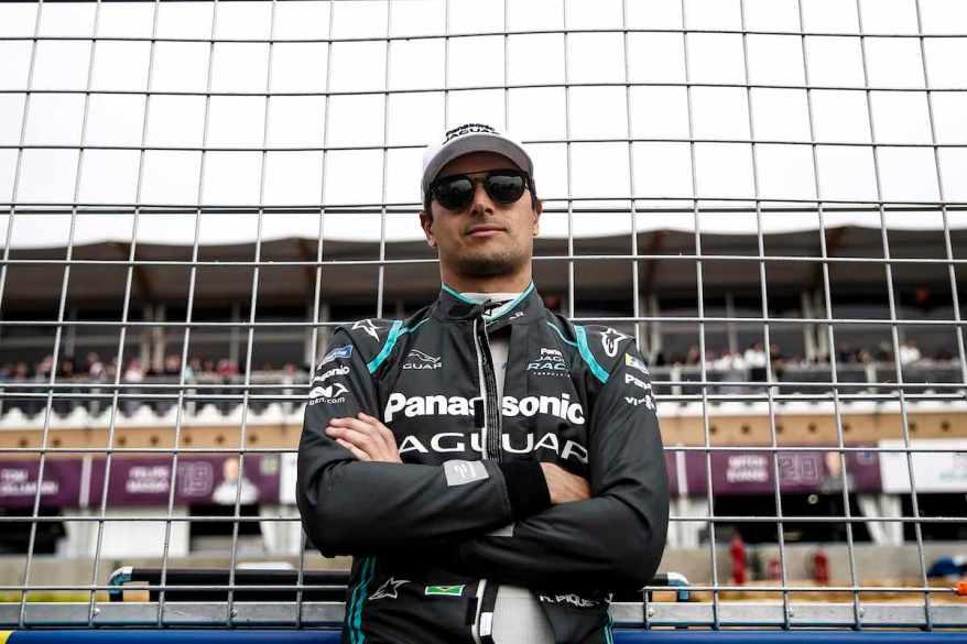 Nelson Piquet jr (c)Jaguar