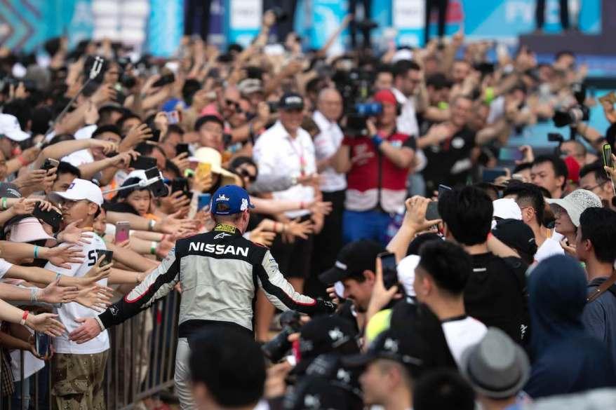 Oliver Rowland,Nissan Formula E - Sanya EPrix Race (c)Nissan