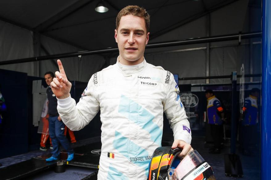 VANDOORNE Stoffel (bel), Venturi VFE05 team HWA Racelab, portrait during the 2019 Formula E championship, at Hong Kong, from march 8 to 10, 2019 - Photo Florent Gooden / DPPI,HWA