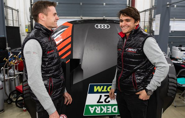 Jonathan Aberdein, Pietro Fittipaldi (WRT Team Audi Sport),DTM Test Lausitzring 2019 (c)Audi