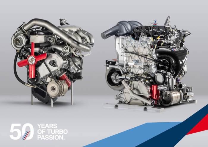 BMW Turbomotoren M121 und P48 (c)BMW