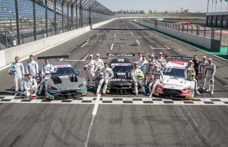 DTM Grid 2019,DTM Lausitzring Test 2019, (c)DTMPhoto by Hoch ZweiKlettwitz