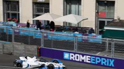 Felix Da Costa in Rom (c)BMW