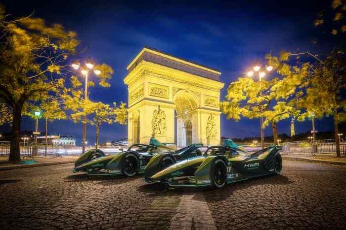 HWA in Paris (c)HWA Racelab