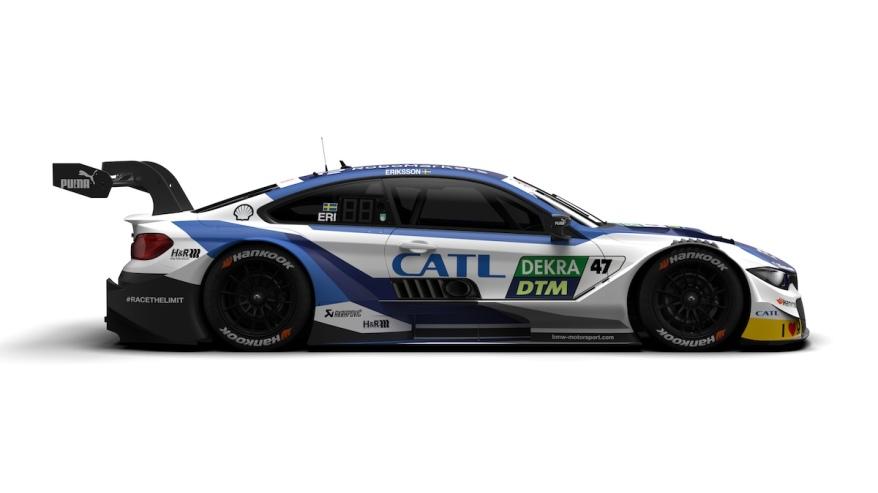 Joel Eriksson im CATL Auto (c)BMW