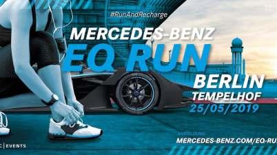 Mercedes EQ Run in berlin (c)Mercedes