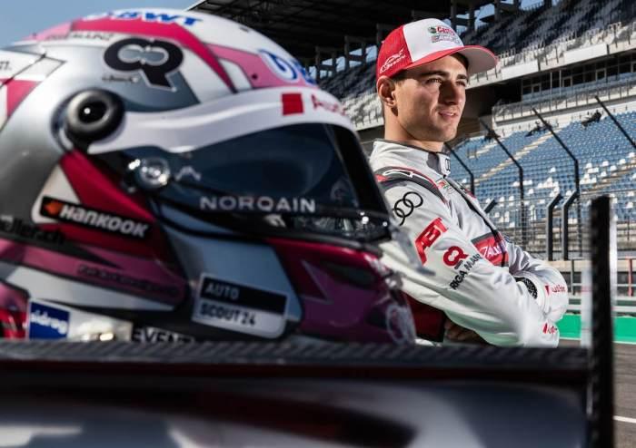 Nico Müller,Audi,DTM Test Lausitzring 2019 (c)Audi