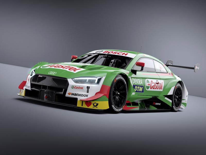 Castrol EDGE Audi RS 5 DTM #51 (Audi Sport Team Abt Sportsline), Nico Müller (c)Audi