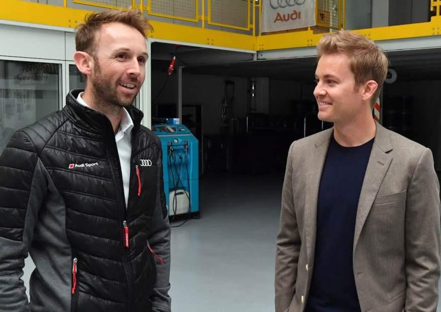 René Rast, Nico Rosberg,DTM 2019, Audi Sport Team Rosberg (c)Audi
