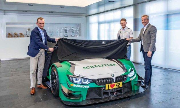 Schaeffler BMW mit Wittmann und Marquardt (c)Schaeffler