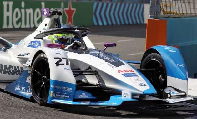 Alexander Sims im BMW iFE.18 (c)BMW