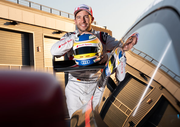 Mike Rockenfeller,DTM Test Lausitzring 2019 (c)Audi