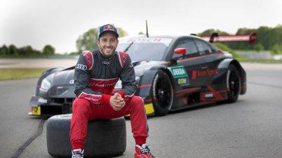 Andrea Dovizioso, Audi RS 5 DTM ©Audi