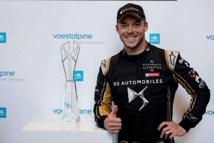 Voestalpine awarded to Andre Lotterer (DEU), DS TECHEETAH, DS E-Tense FE19 ©FormulaE, voestalpine