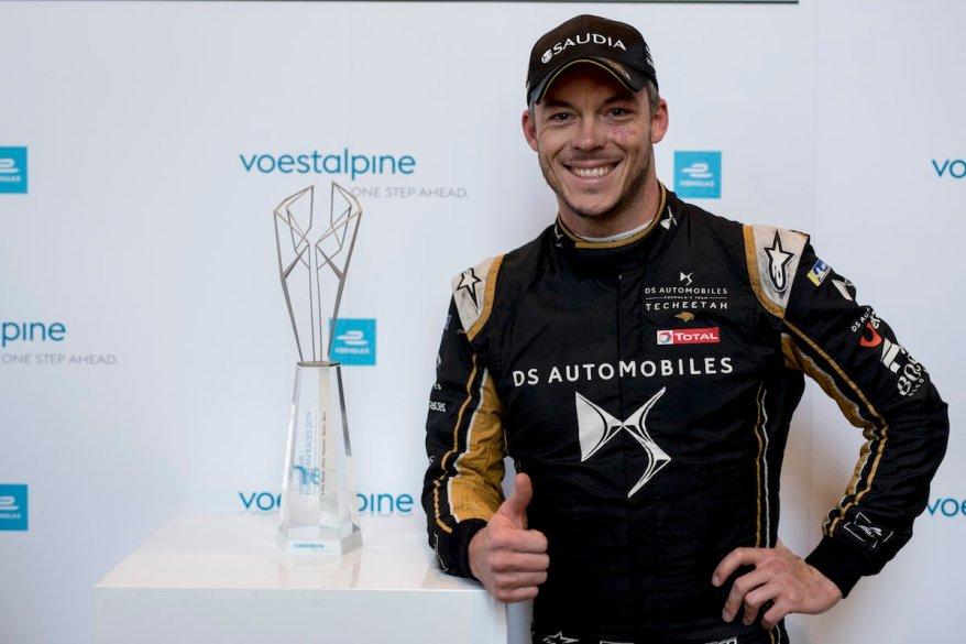 Voestalpine awarded to Andre Lotterer (DEU), DS TECHEETAH, DS E-Tense FE19 ©FormulaE, voestalpine