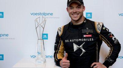 Voestalpine awarded to Andre Lotterer (DEU), DS TECHEETAH, DS E-Tense FE19 ©FIAFormulaE