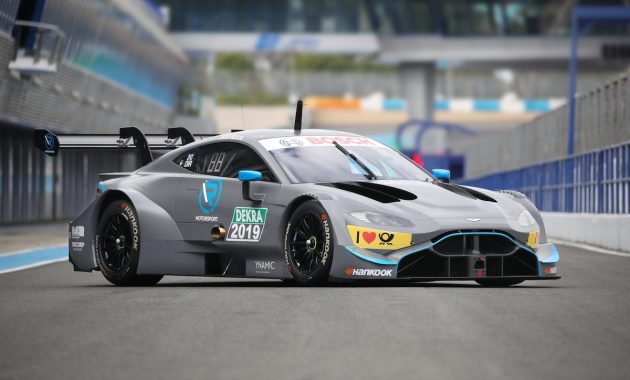 DTM Test Jerez Aston Martin (c)R-Motorsport