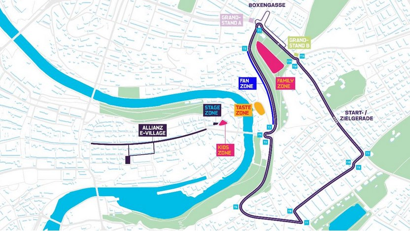 Bern Strecke Swiss E-Prix ©Swiss AG