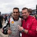 Sebastien Buemi und Lothar Matthäus am Grid Nissan Formula E – Berlin E-Prix©Nissan