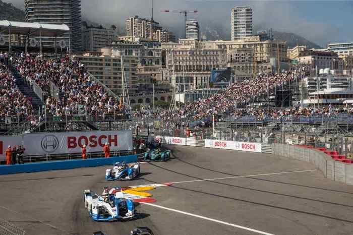 Da Costa und Sims in Monaco ©BMW