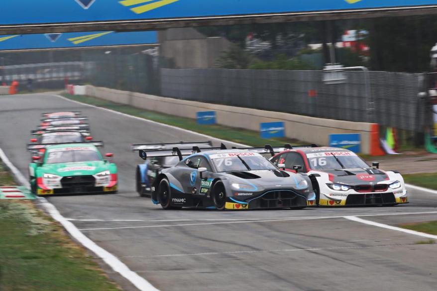 Jake Dennis, Aston Martin in Zolder ©R-Motorsport