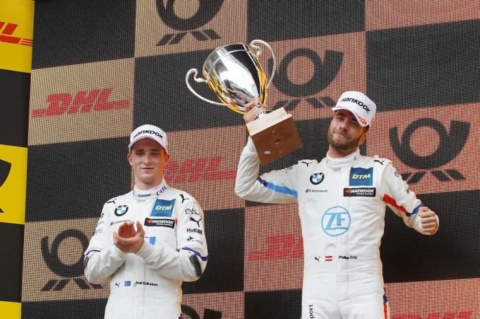 Eng und Eriksson feiern BMW-Doppelsieg in Zolder ©BMW
