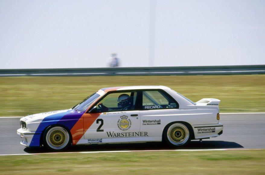 Eric van der Pole BMW M3 ©BMW