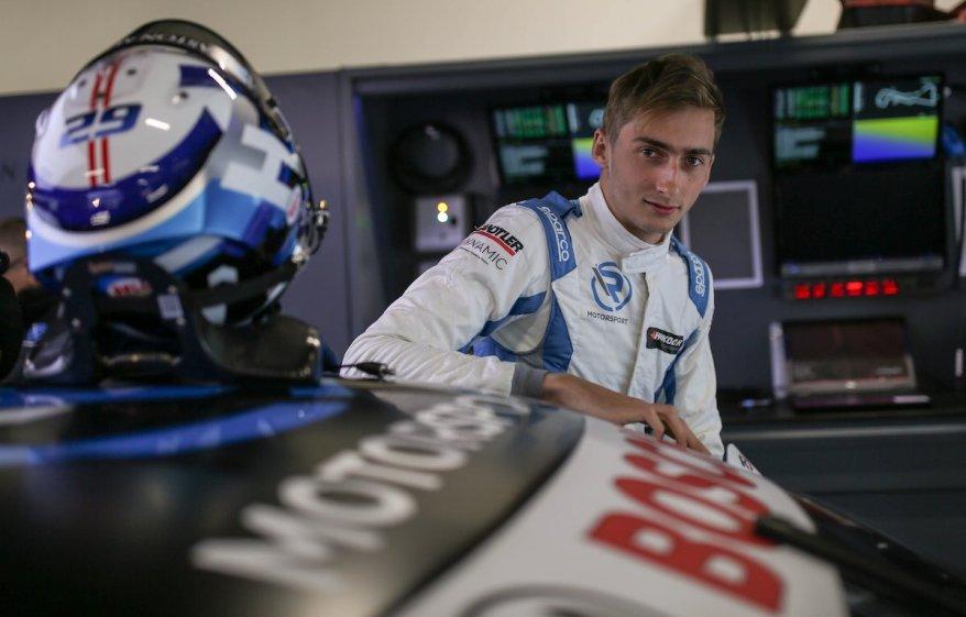 Ferdinand Habsburg in Zolder ©R-Motorsport