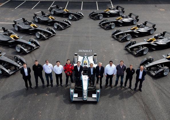 Formula E team principals (2014) ©Audi
