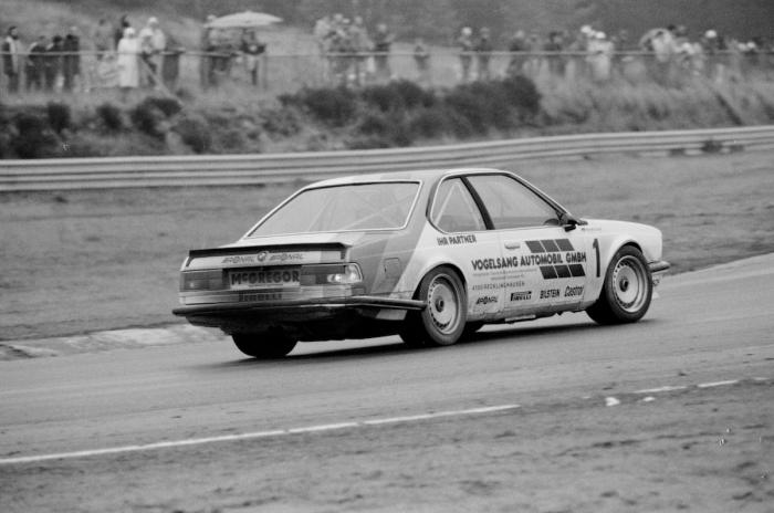 Harald Grohs im BMW in Zolder ©DTM