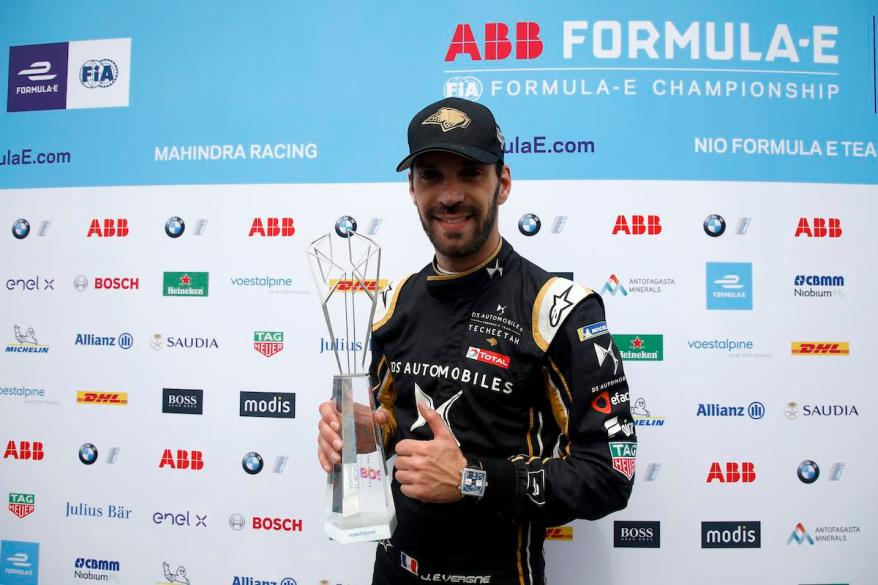 Jean-Eric Vergne (FRA), DS TECHEETAH, voestalpine European Races, Berlin E- Prix ©voestalpine