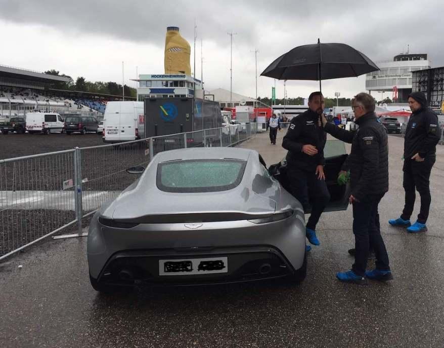 Dr Florian Kamelger Aston Martin Premiere ©EHirsch