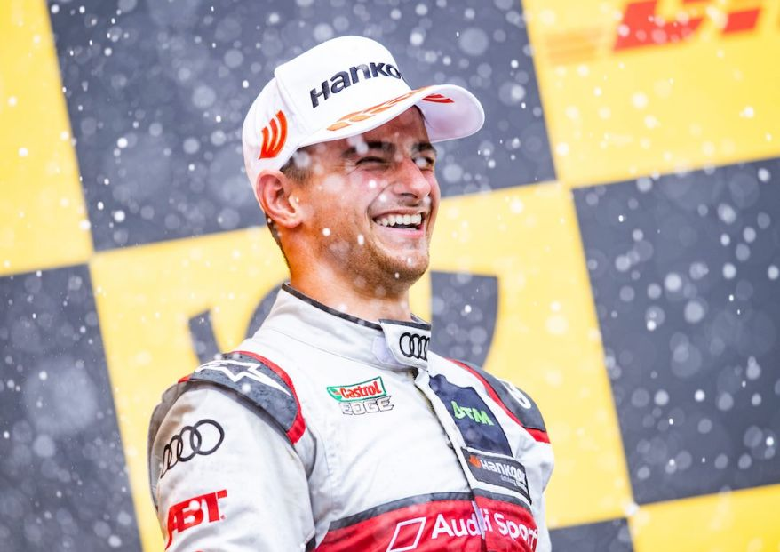 Nico Müller, Platz 3 DTM Zolder 2019 ©Audi