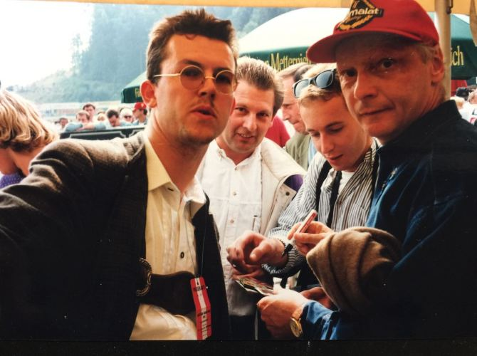 Niki Lauda am Sbg-ring ©EHirsch