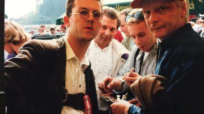 Niki Lauda auf dem Salzburgring ©EHirsch
