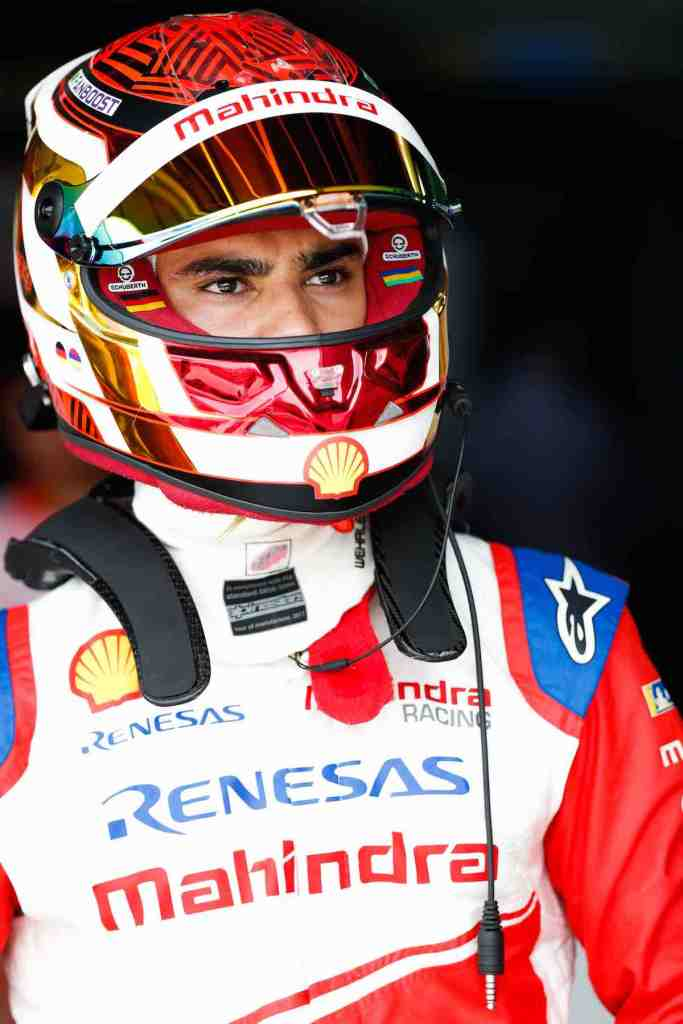 Pasacal Wehrlein Mahindra ©FIAFormulaE, Photo by Sam Bloxham / LAT Images)