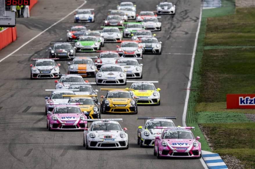 Porsche Carrera Cup 18 ©Porsche