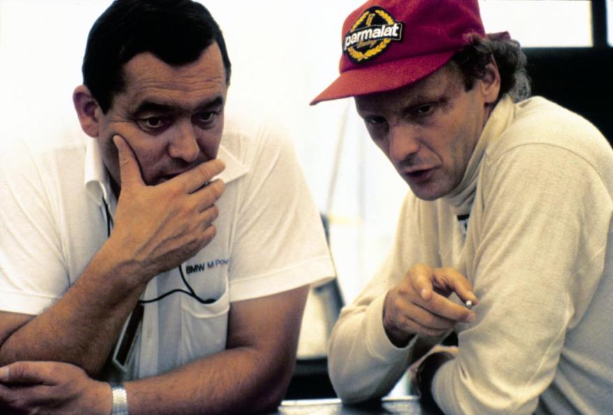 Paul Rosche und Niki Lauda ©Copyright by BMW AG