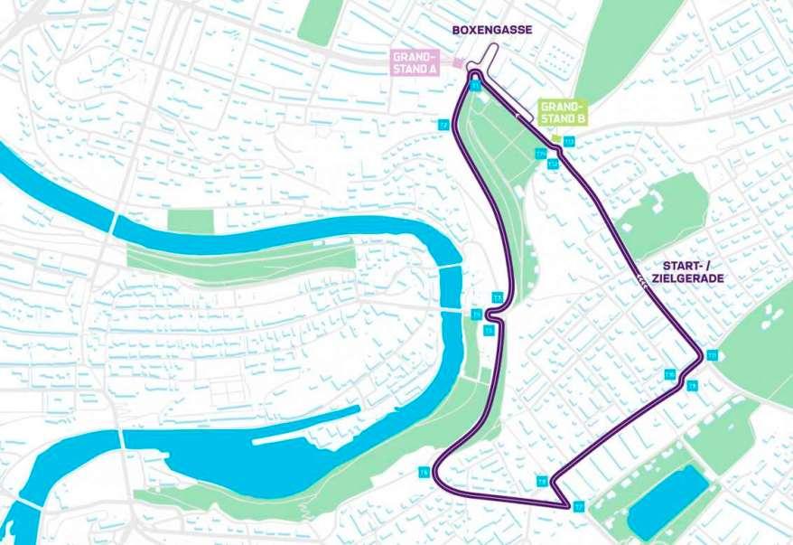 Streckenverlauf Bern ©Swiss AG
