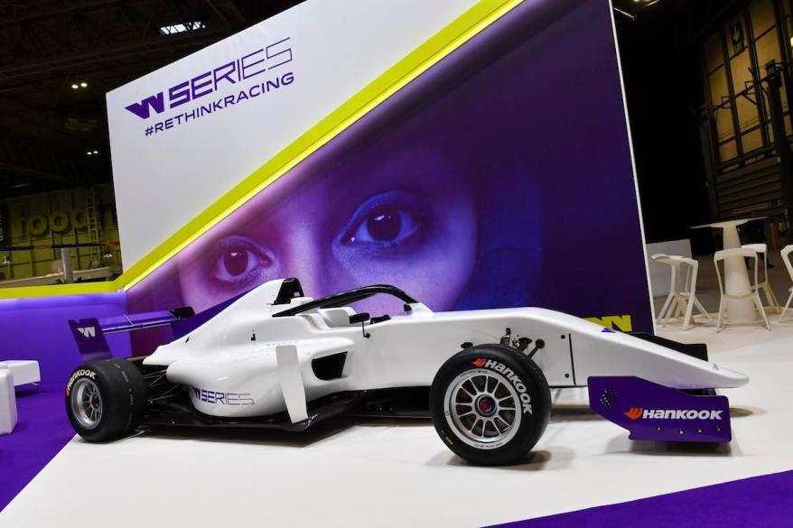 W Series, 2019 Autosport International Show (c)Hankook