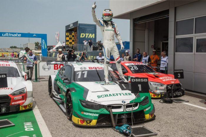 Bmw Pilot Marco Wittmann gewinnt Misano (c) BMW