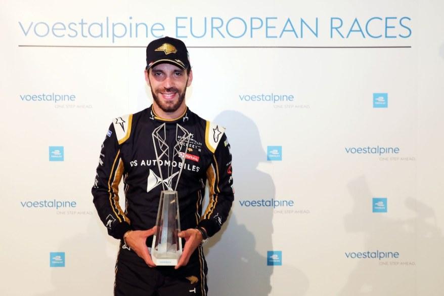 Jean-Eric Vergne Sieger der 'voestalpine European Races' ©voestalpine
