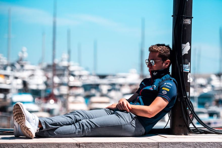 Robin Frijns , Envision Virgin Racing, ©FiaFormulaE