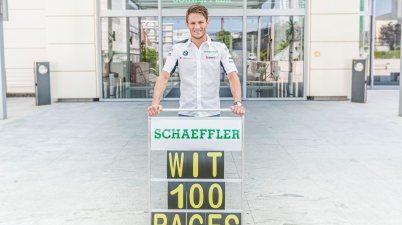 Wittmann feierte Jubiläum in Misano 10..Rennen ©Schaeffler