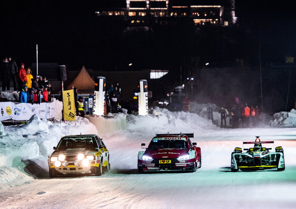 GP Ice Race 2019, Zell am See ©Audi