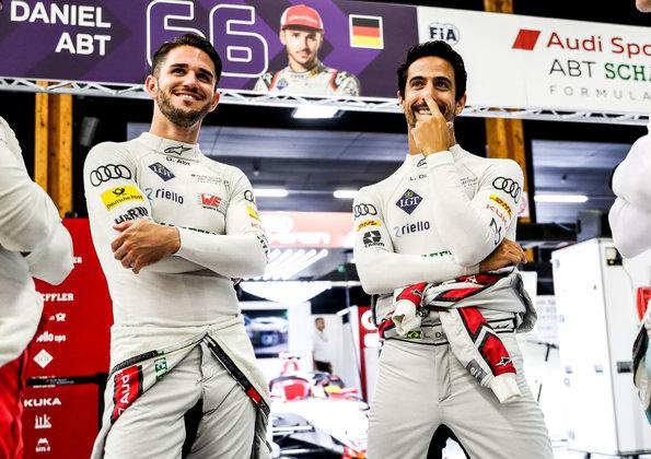 Daniel Abt, Lucas di Grassi,Formula E, Bern E-Prix 2019 ©Audi