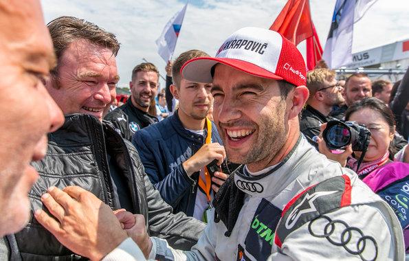 Bram Schot, Mike Rockenfeller,DTM Norisring 2019 ©Audi